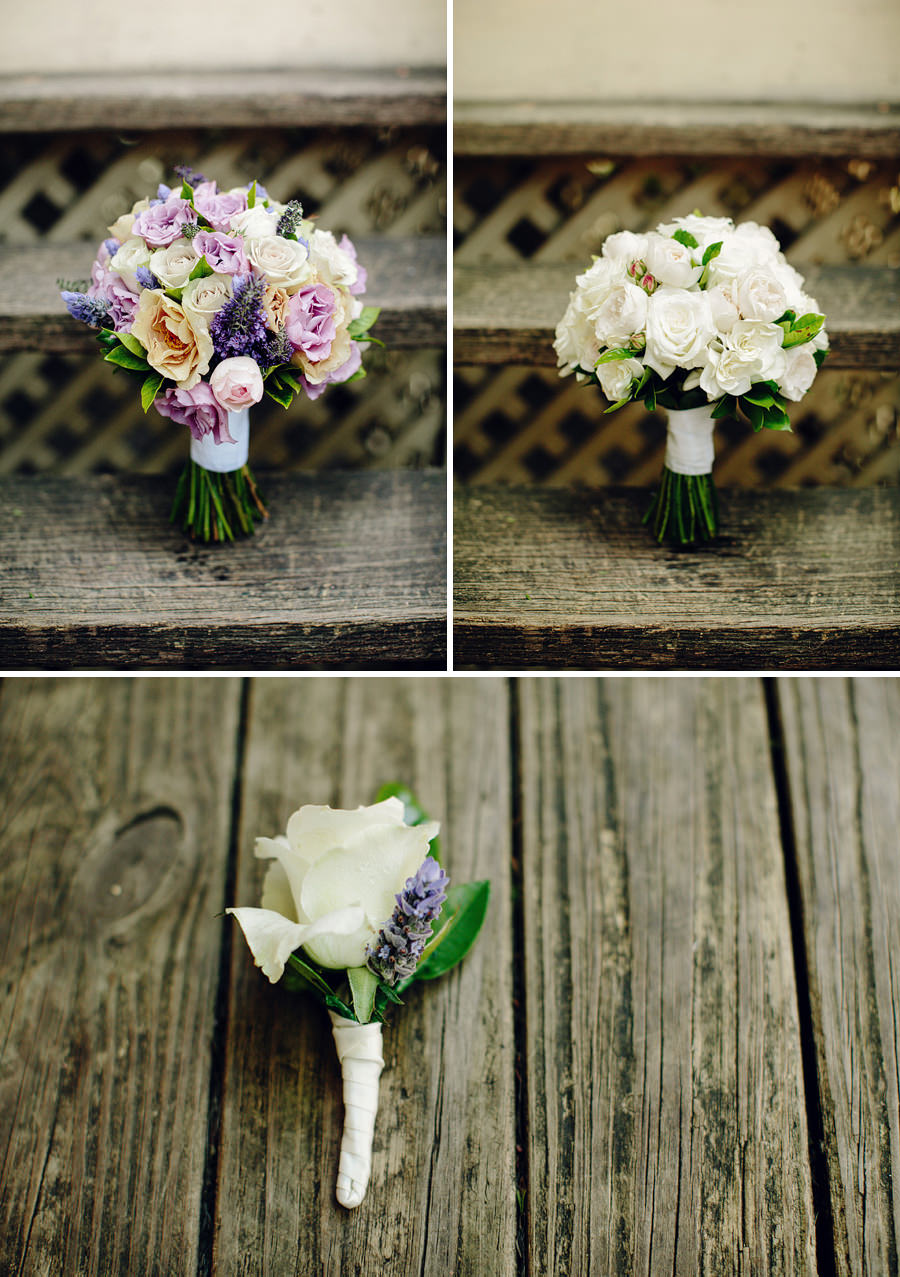Roseville Wedding Photographers: Bouquets