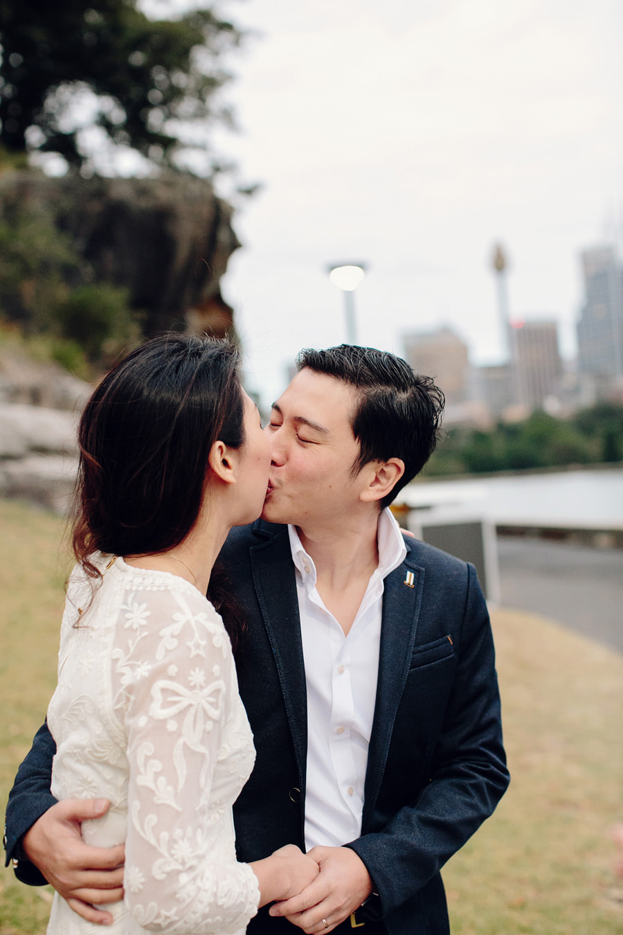 Mrs Macquarie's Chair Elopement Photographers: Faye & Ming