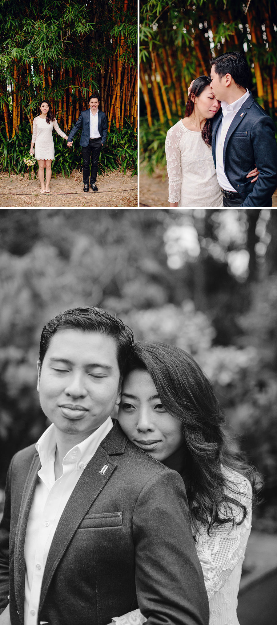 Botanic Gardens Wedding Photographers: Faye & Ming