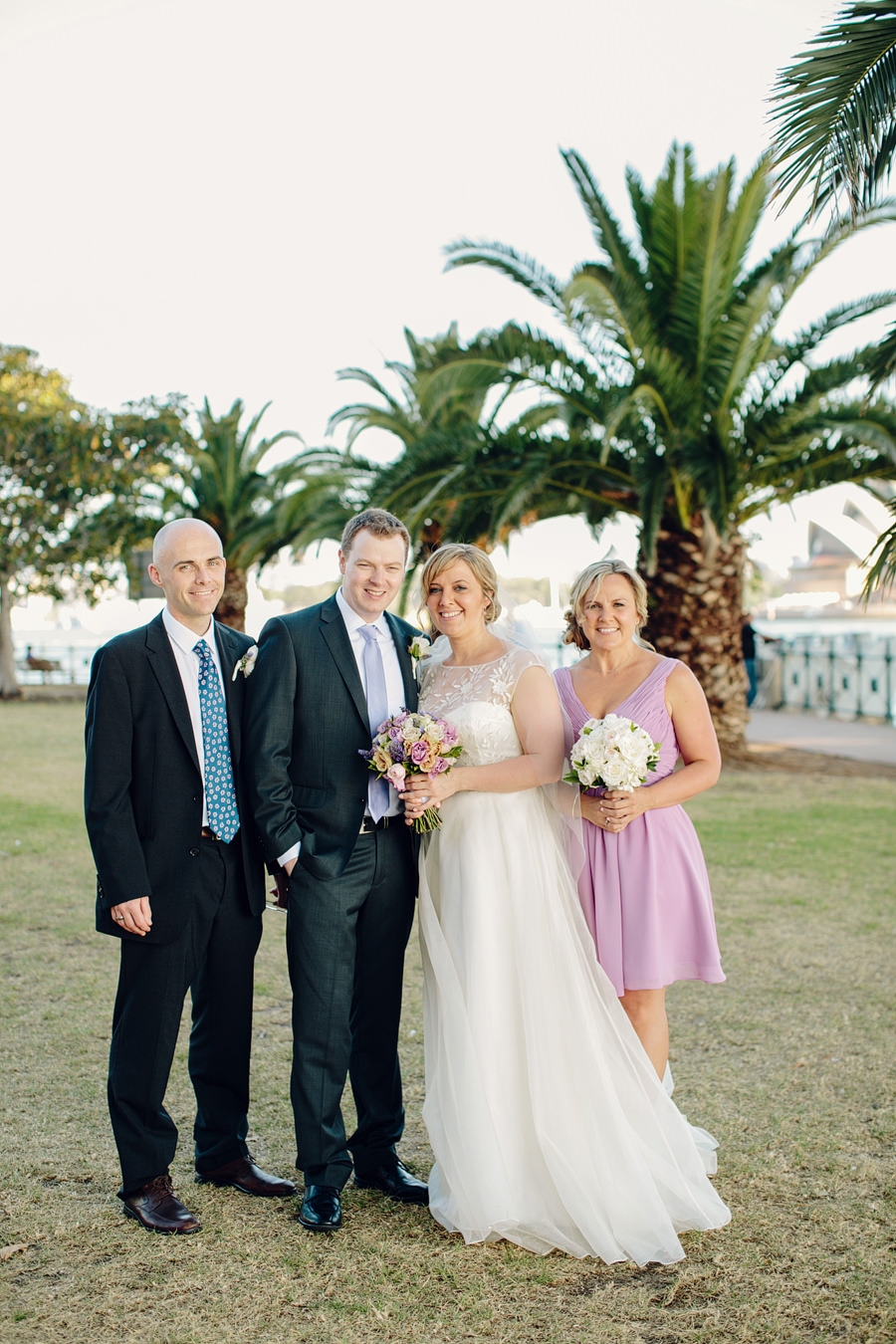 Kirribilli Wedding Photographers: Bride & Groom Portraits