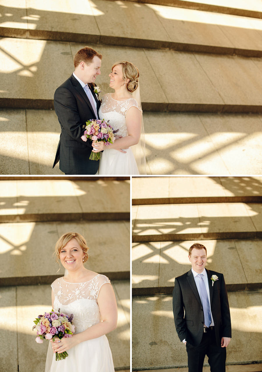 Milsons Point Wedding Photographer: Bride & Groom Portraits