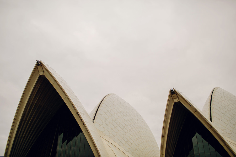Opera House Wedding Photographer: Faye & Ming