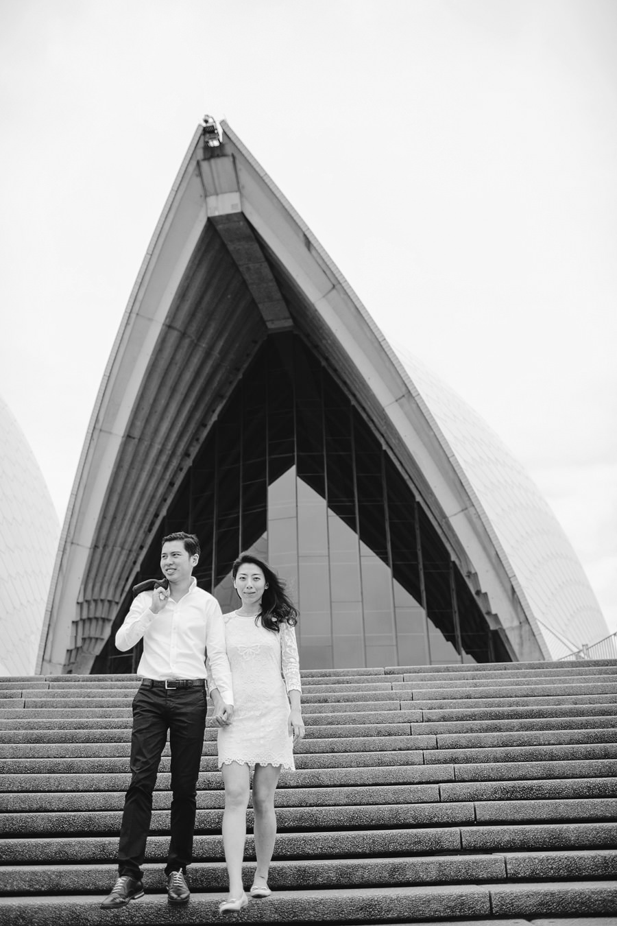 Opera House Wedding Photographers: Faye & Ming