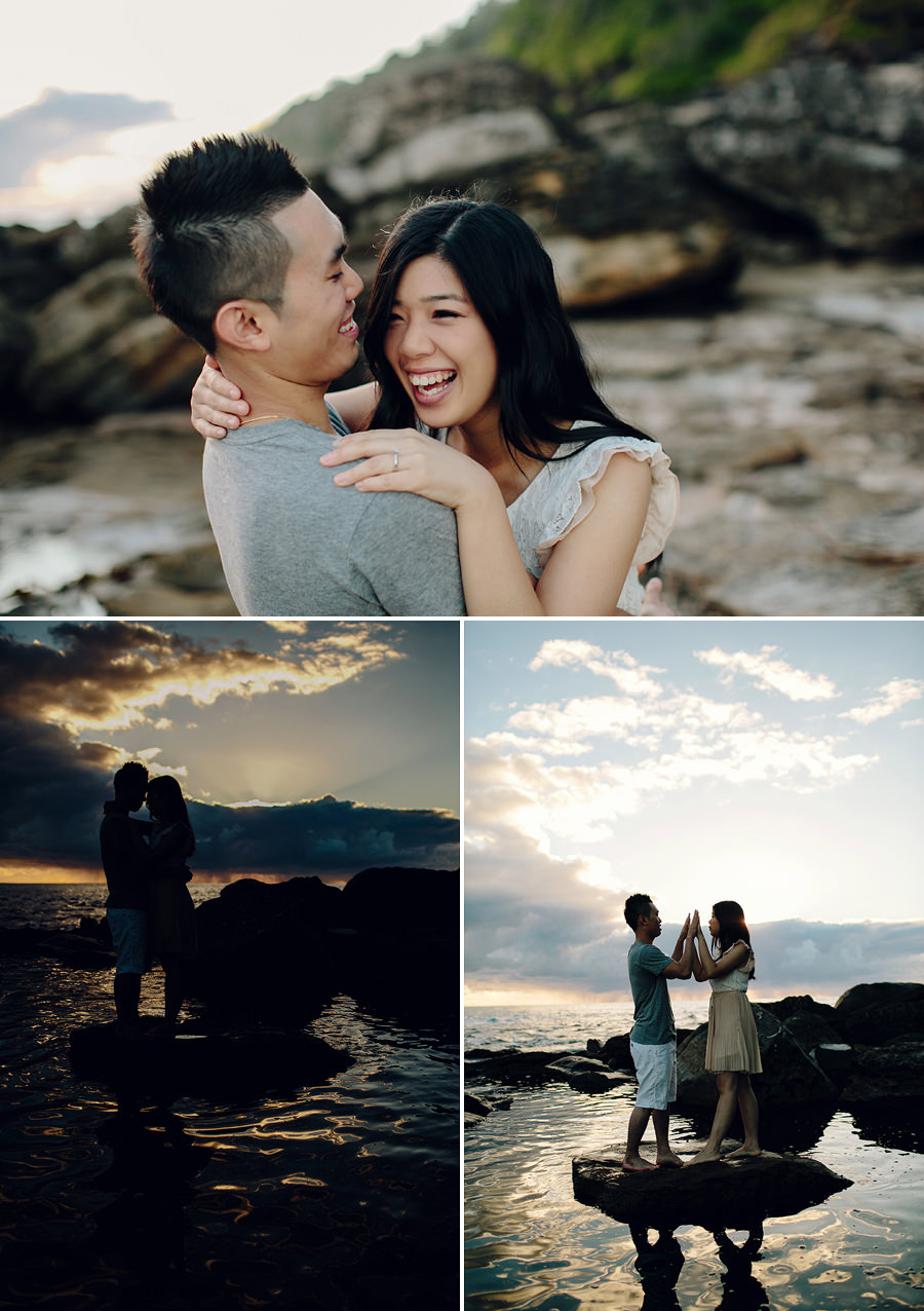 Modern Engagement Photographers: Shirley & Wilson