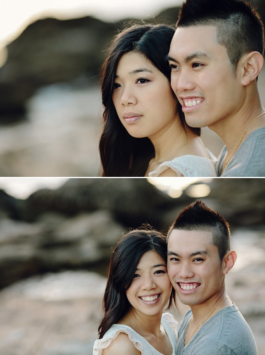 Northern Beaches Engagement Photographer: Shirley & Wilson