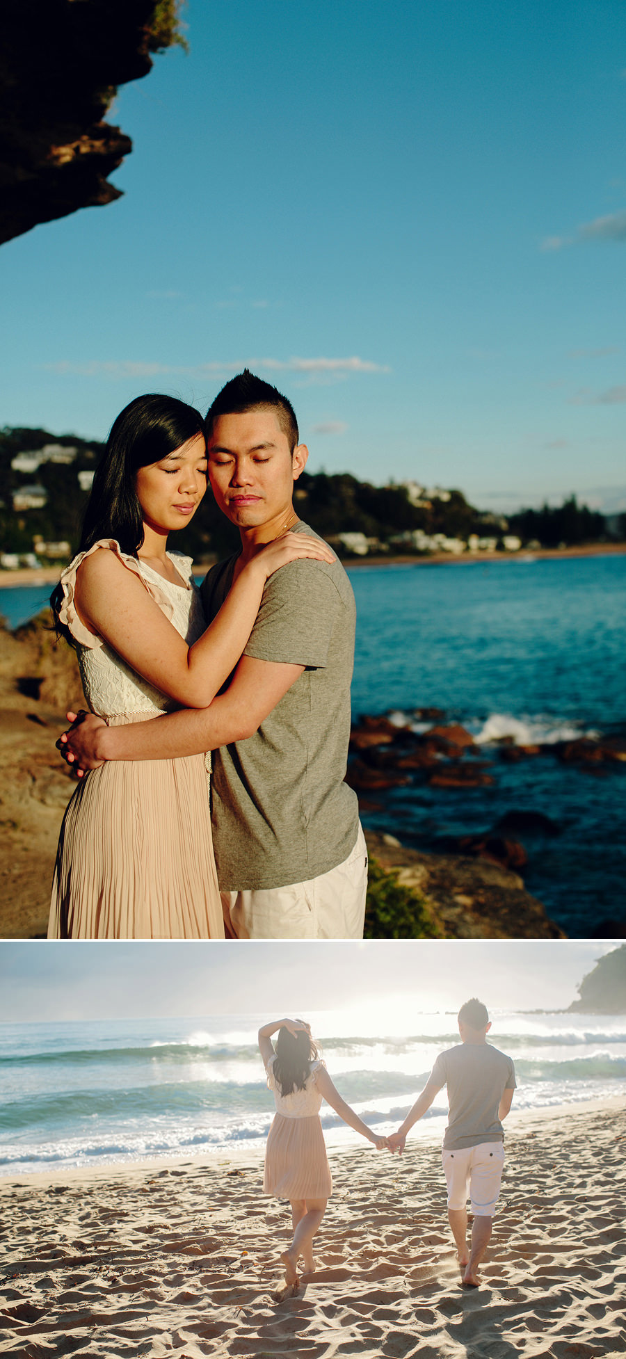 Northern Beaches Engagement Photographers: Shirley & Wilson