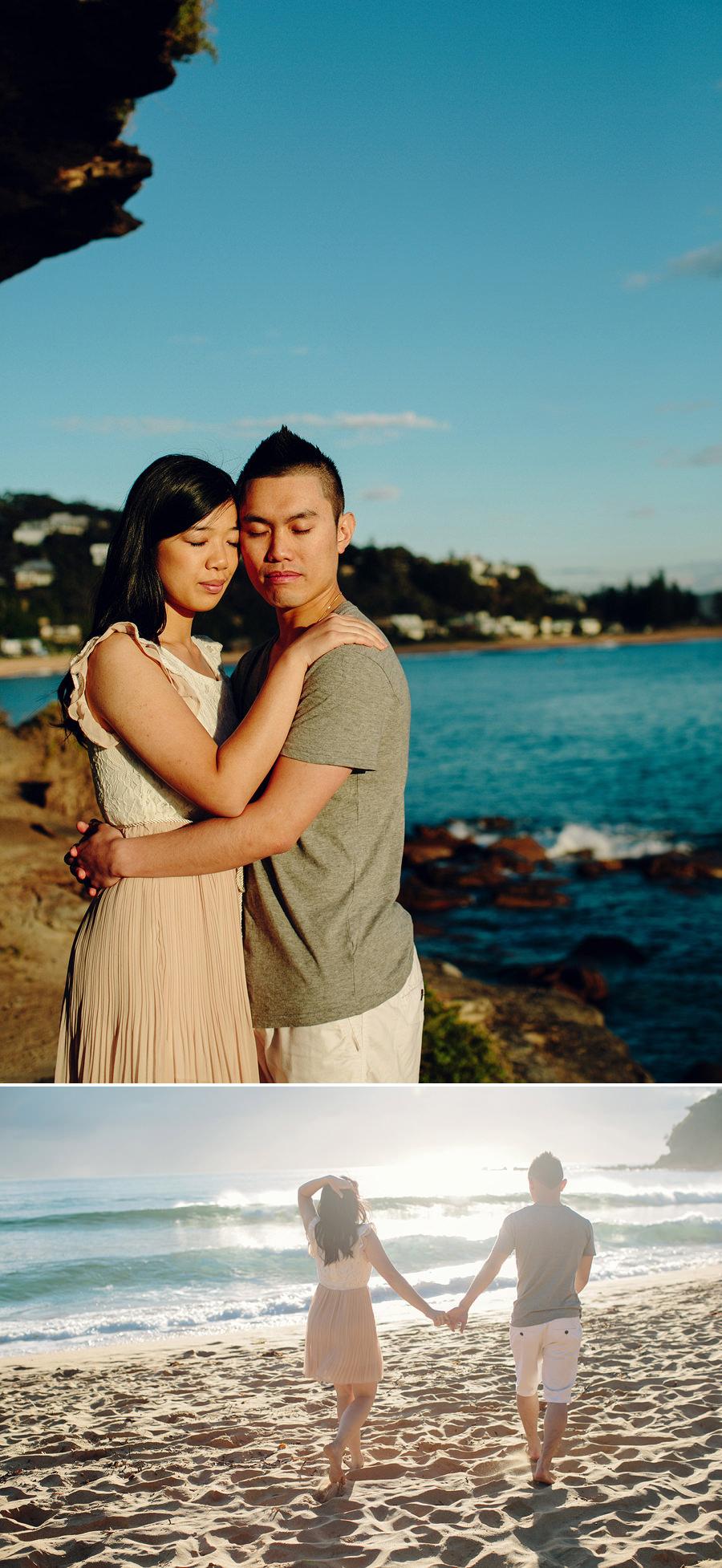 Northern Beaches Engagement Photographers: Shirley & Wilson