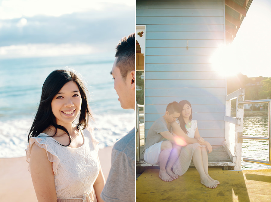 Sunrise Engagement Photography: Shirley & Wilson