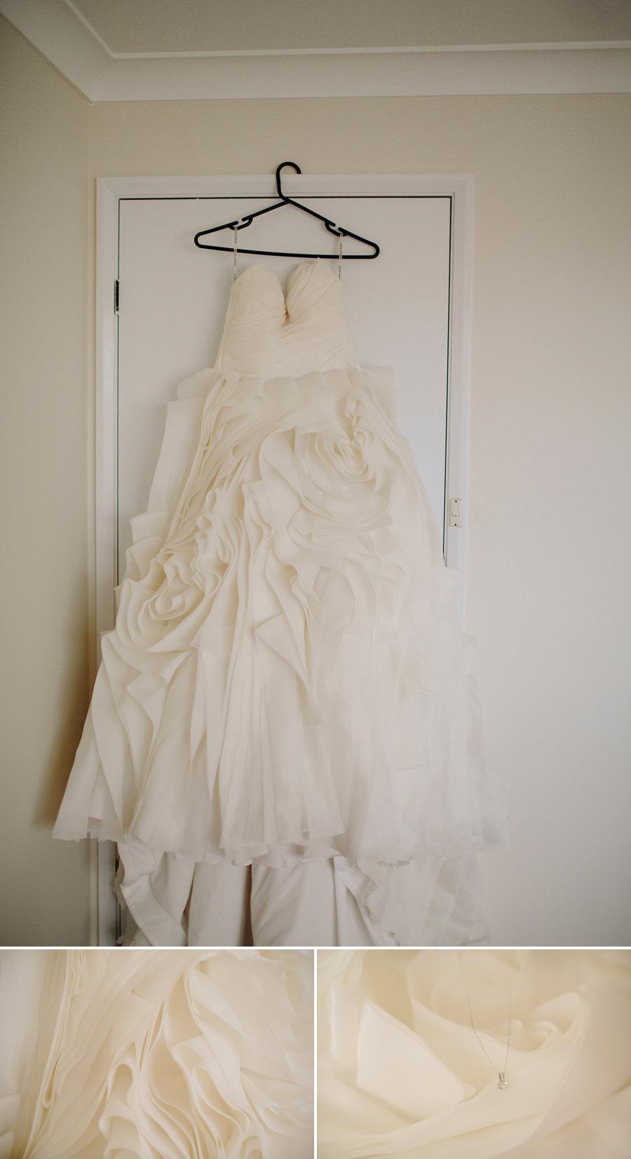 St Johns Park Wedding Photographer: Dress