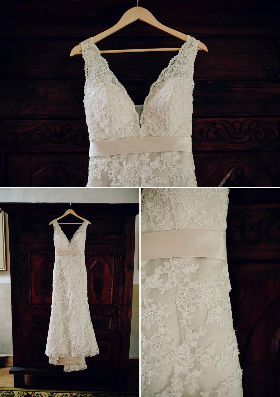 Orara Valley Estate Wedding Photographers: Wedding dress