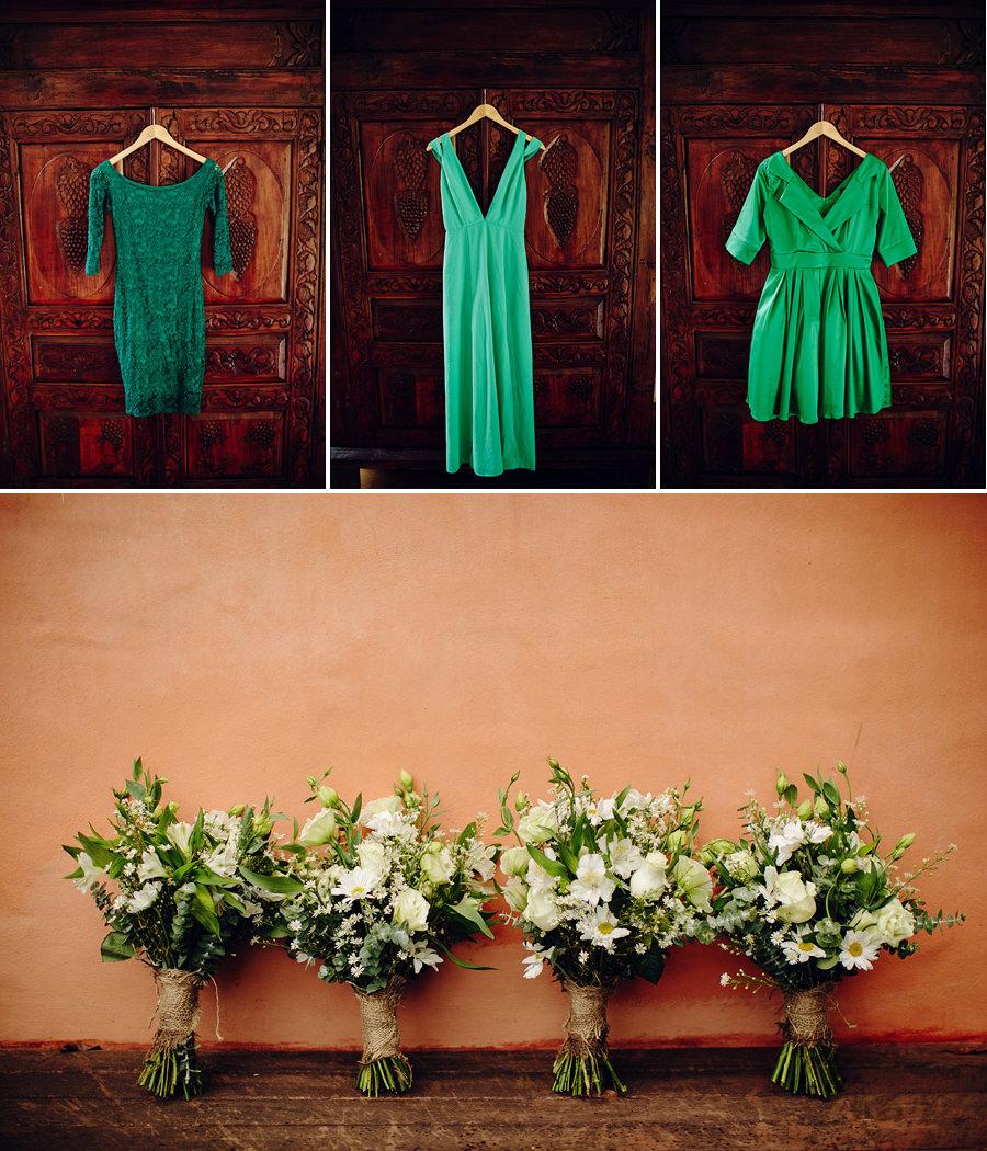 Orara Valley Estate Wedding Photography: Bridesmaid dresses