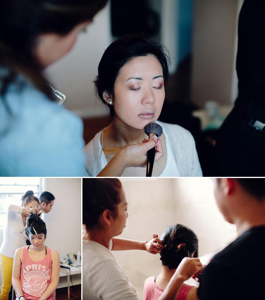 St Johns Park Wedding Photography: Girls getting ready