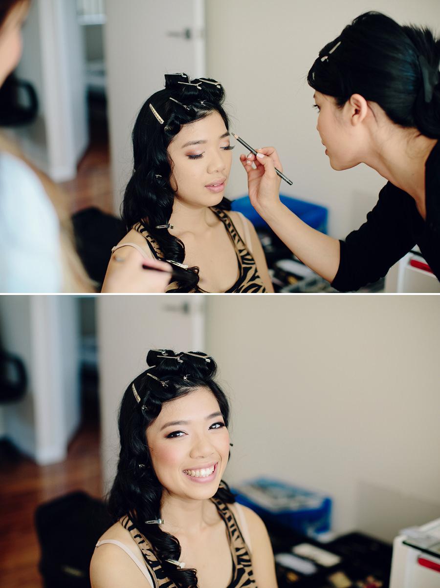 Fairfield Wedding Photographer: Girls getting ready