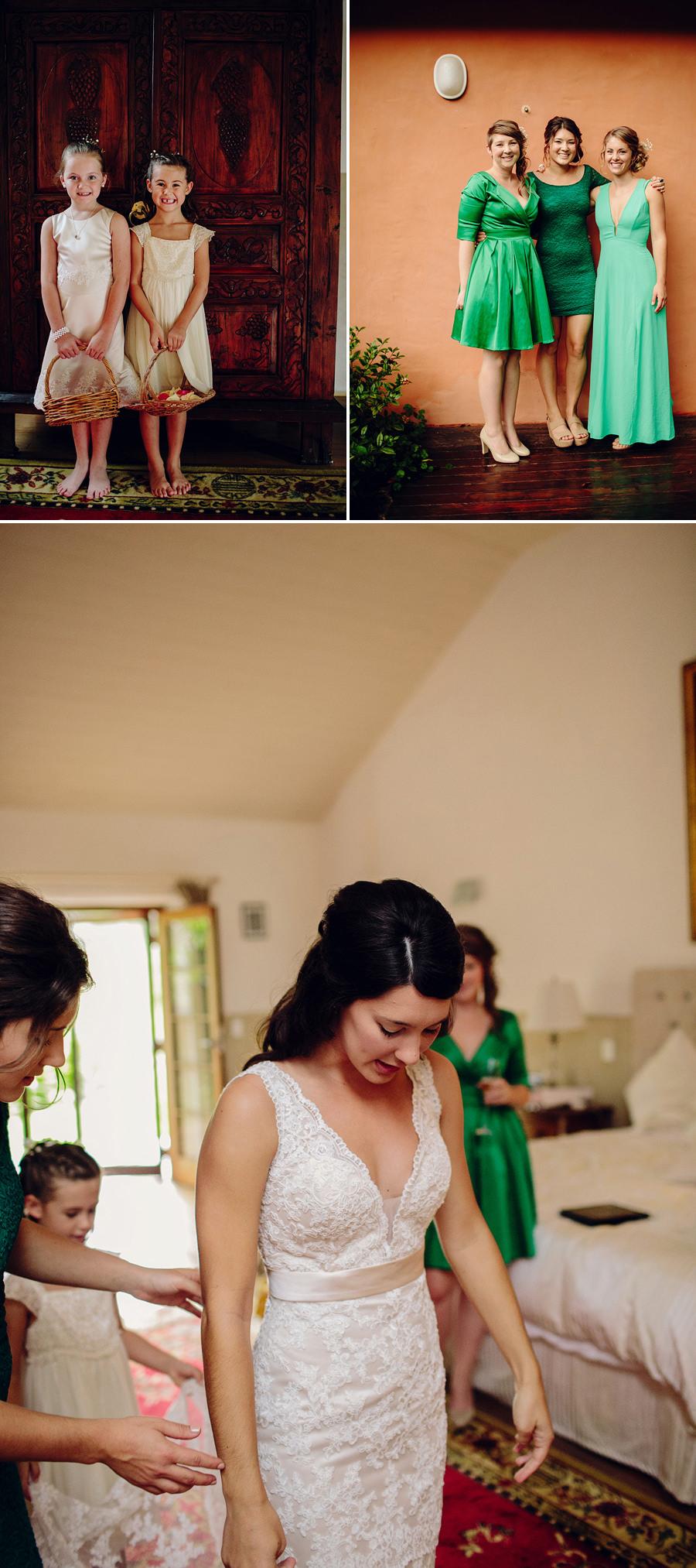 Orara Valley Wedding Photographers: Girls getting ready