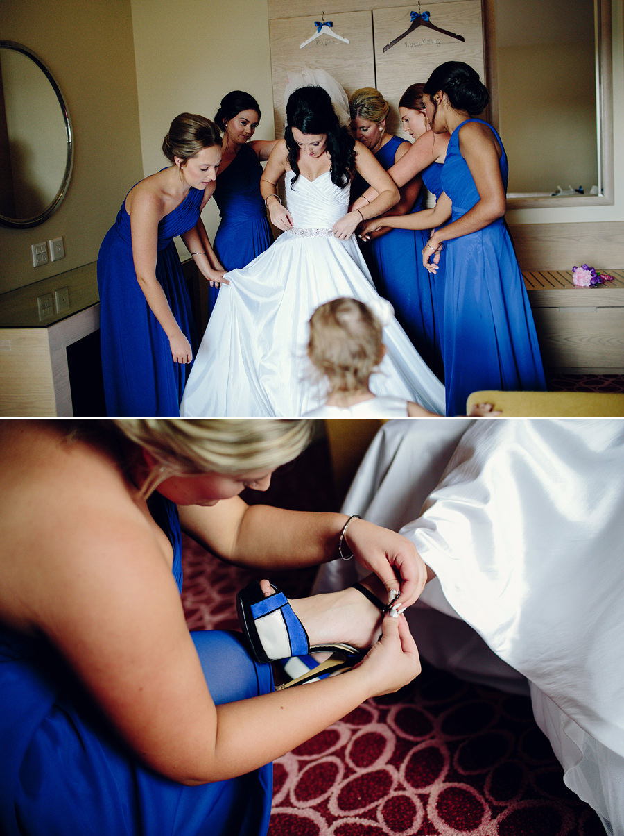 Lasseters Casino Wedding Photographers - Girls getting ready