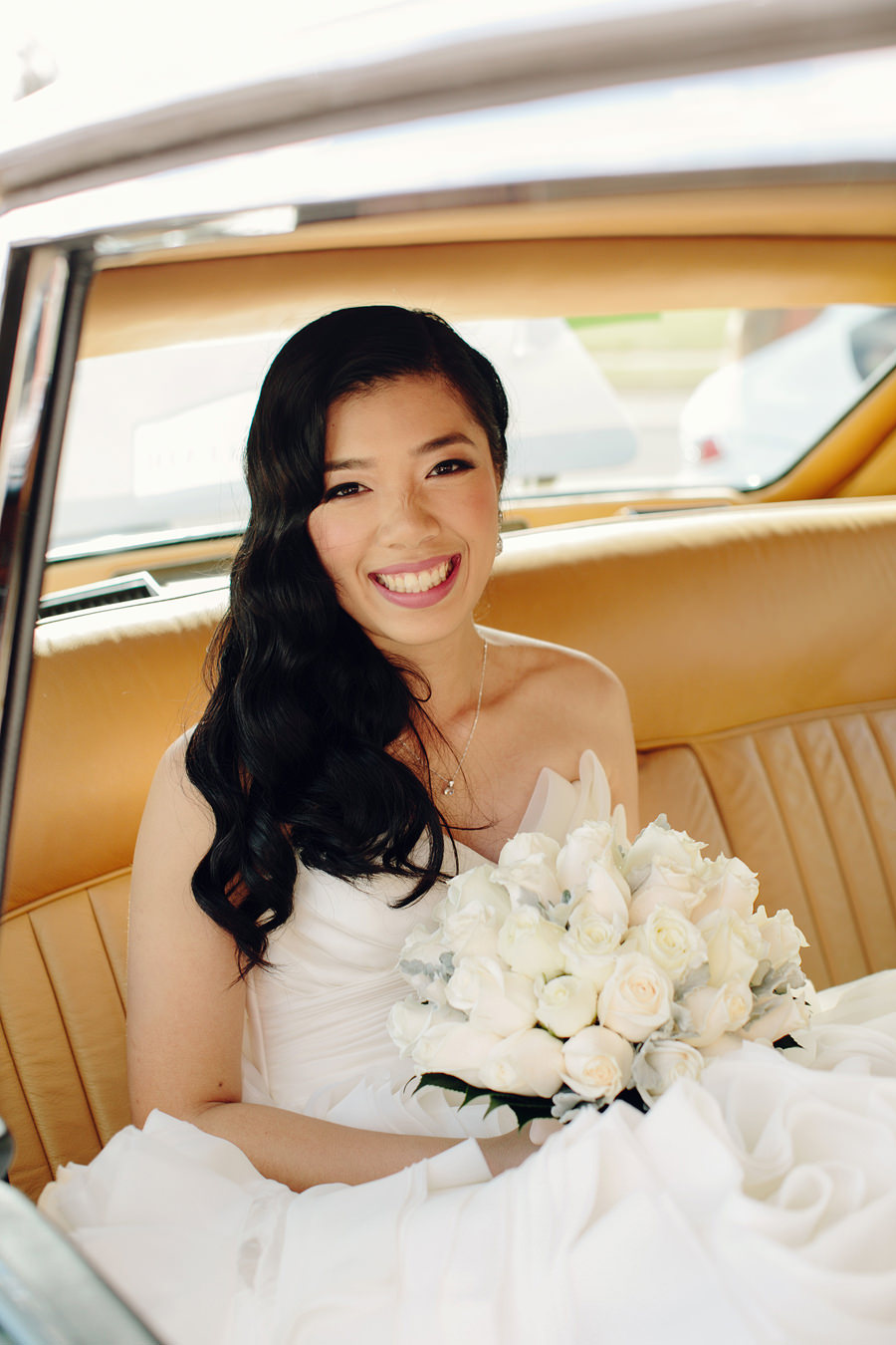 Chinese Wedding Photography: Bride arriving