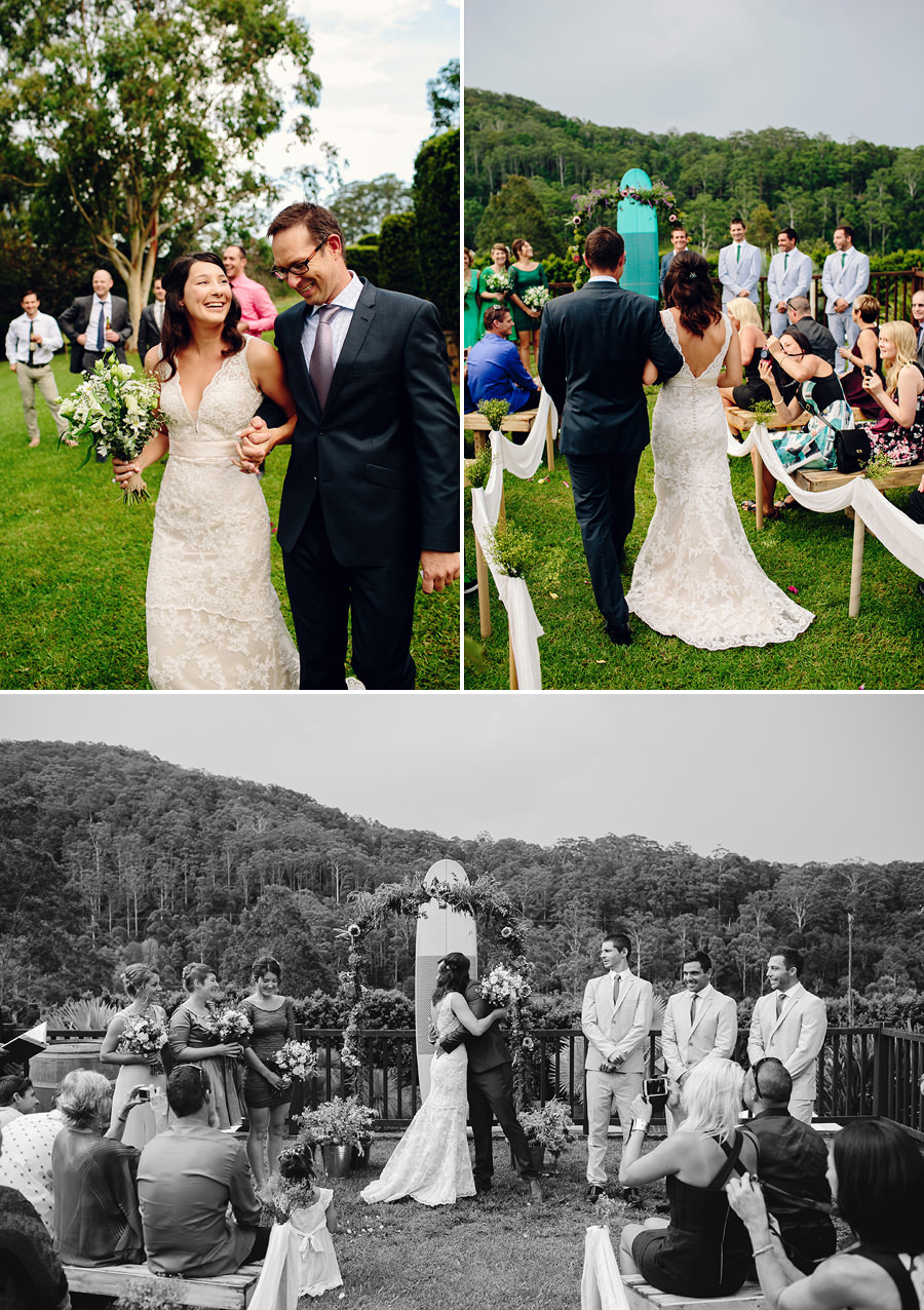Coffs Harbour Hinterland Wedding Photographer: Ceremony