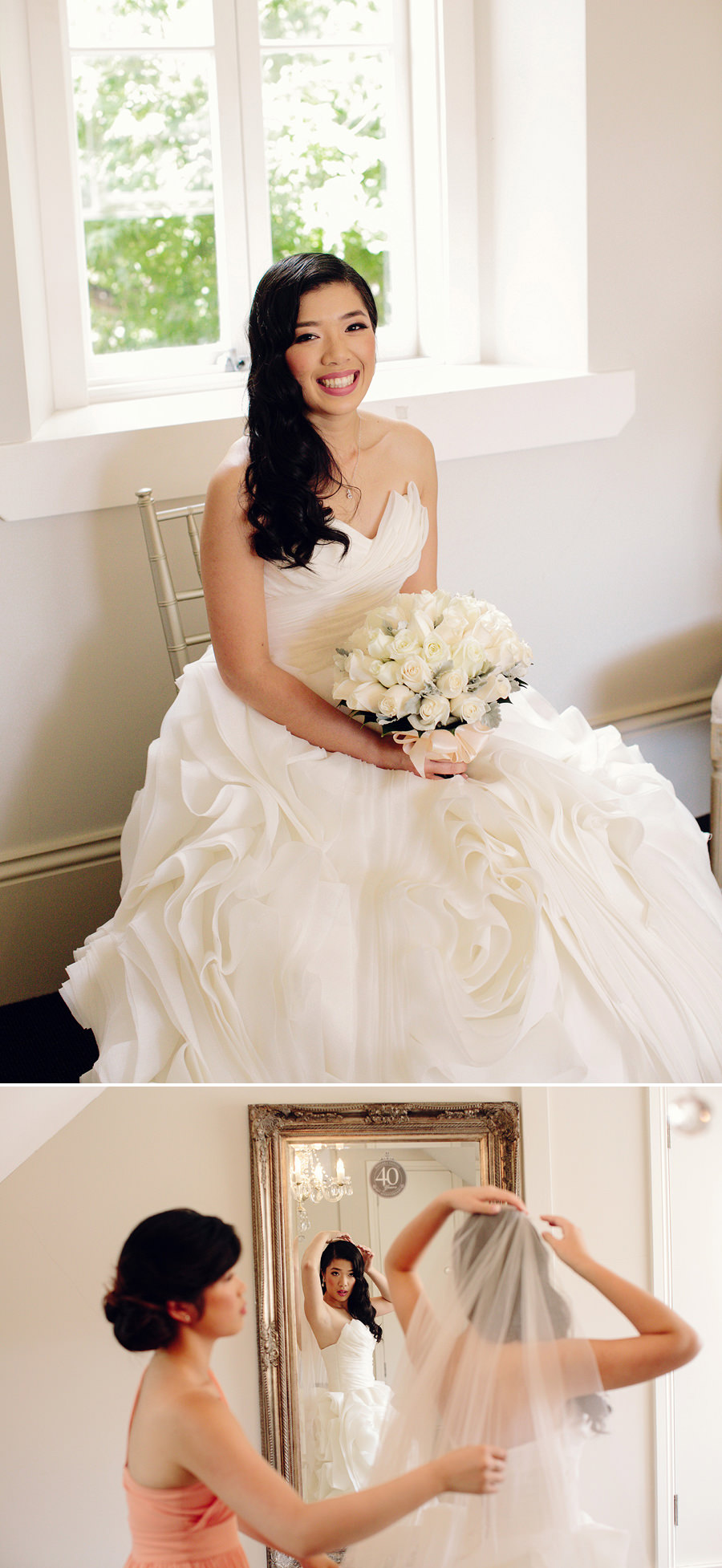Navarra Venues Wedding Photographer: Bridal suite