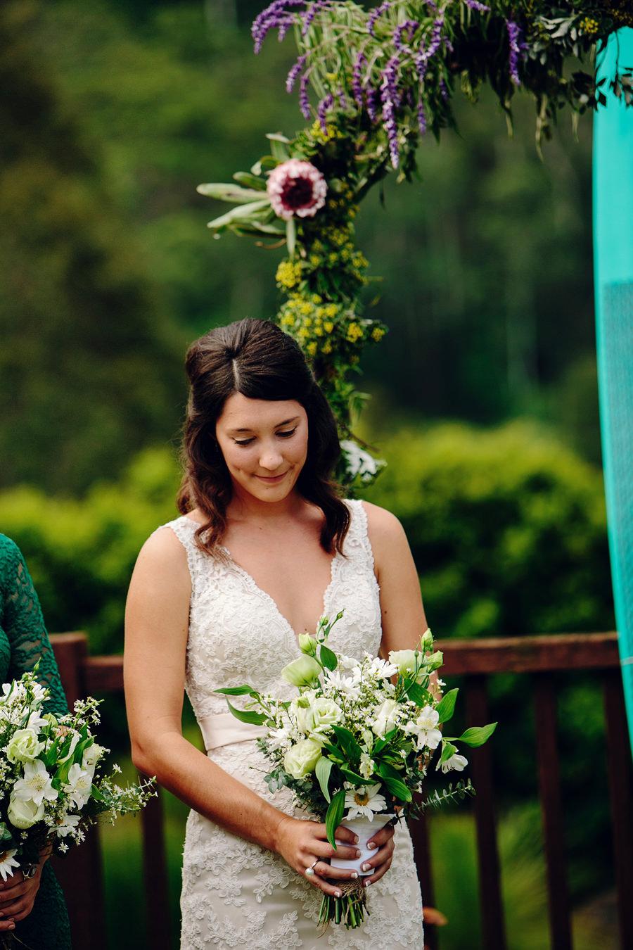 Coffs Harbour Hinterland Wedding Photographers: Ceremony
