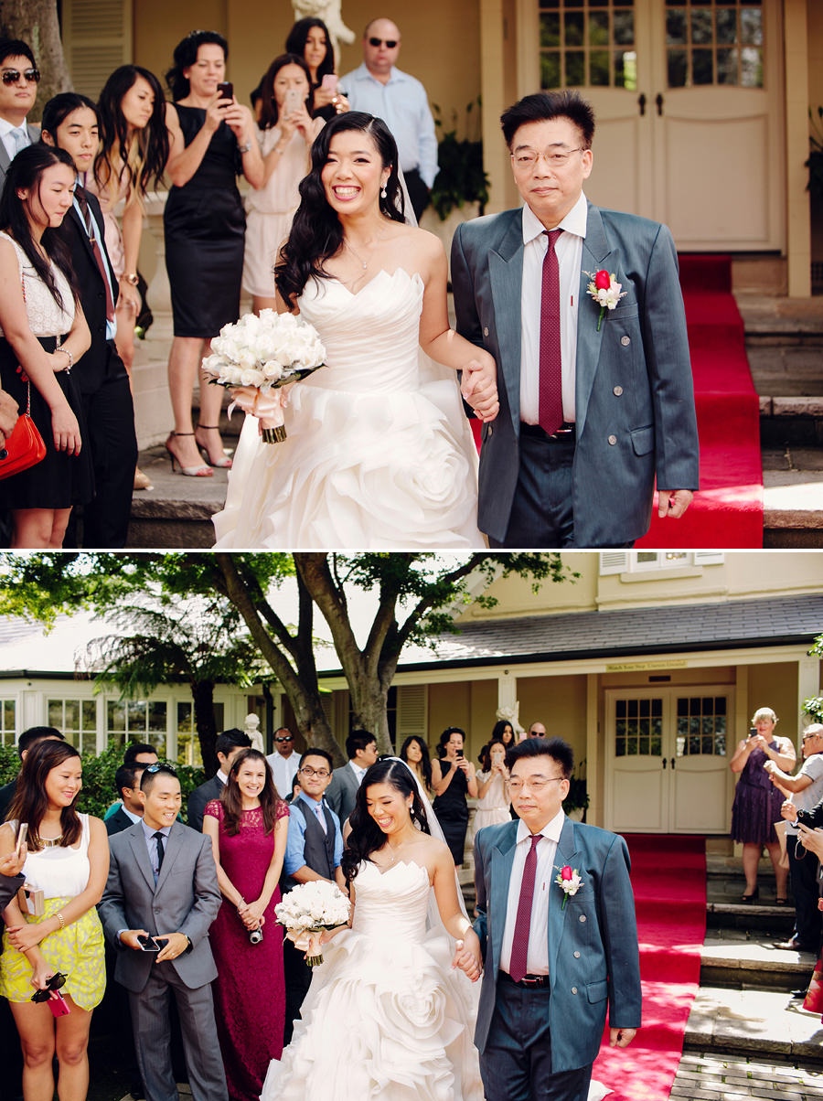 Oatlands House Wedding Photographers: Ceremony