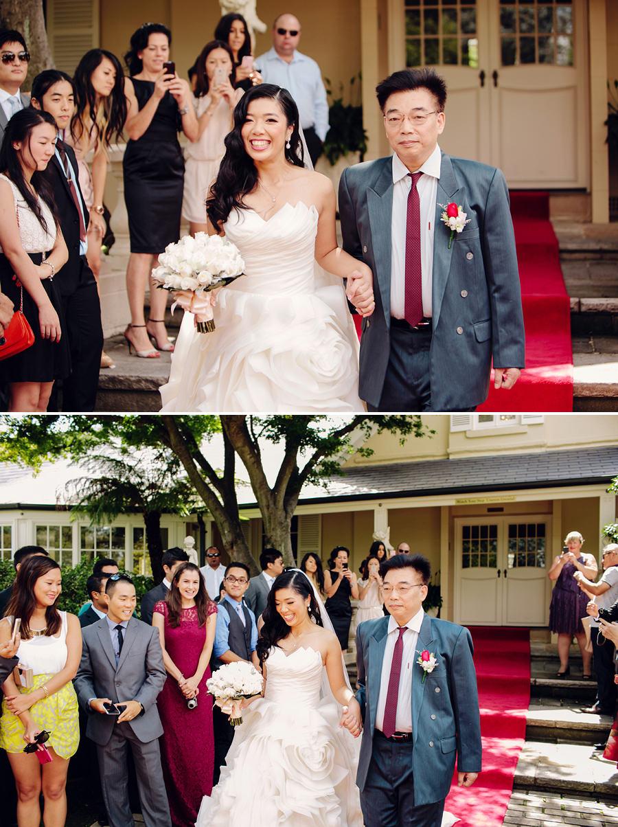 Oatlands House Wedding Photographers: Ceremony
