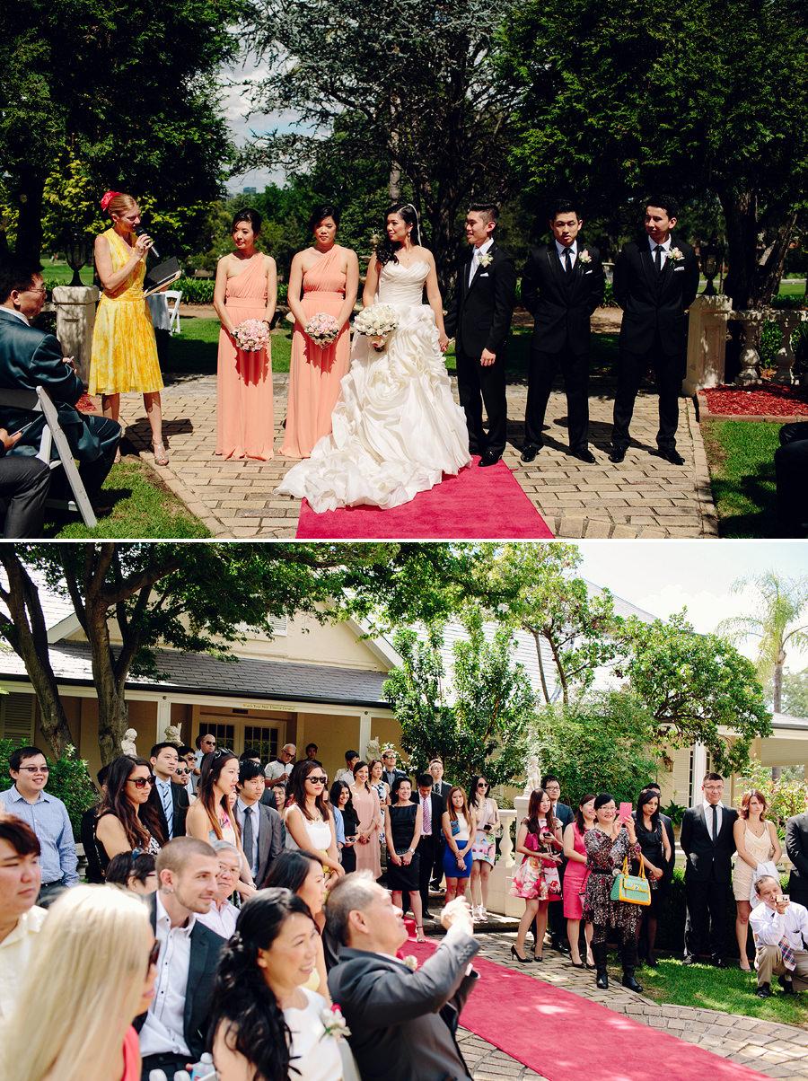 Oatlands House Wedding Photography: Ceremony