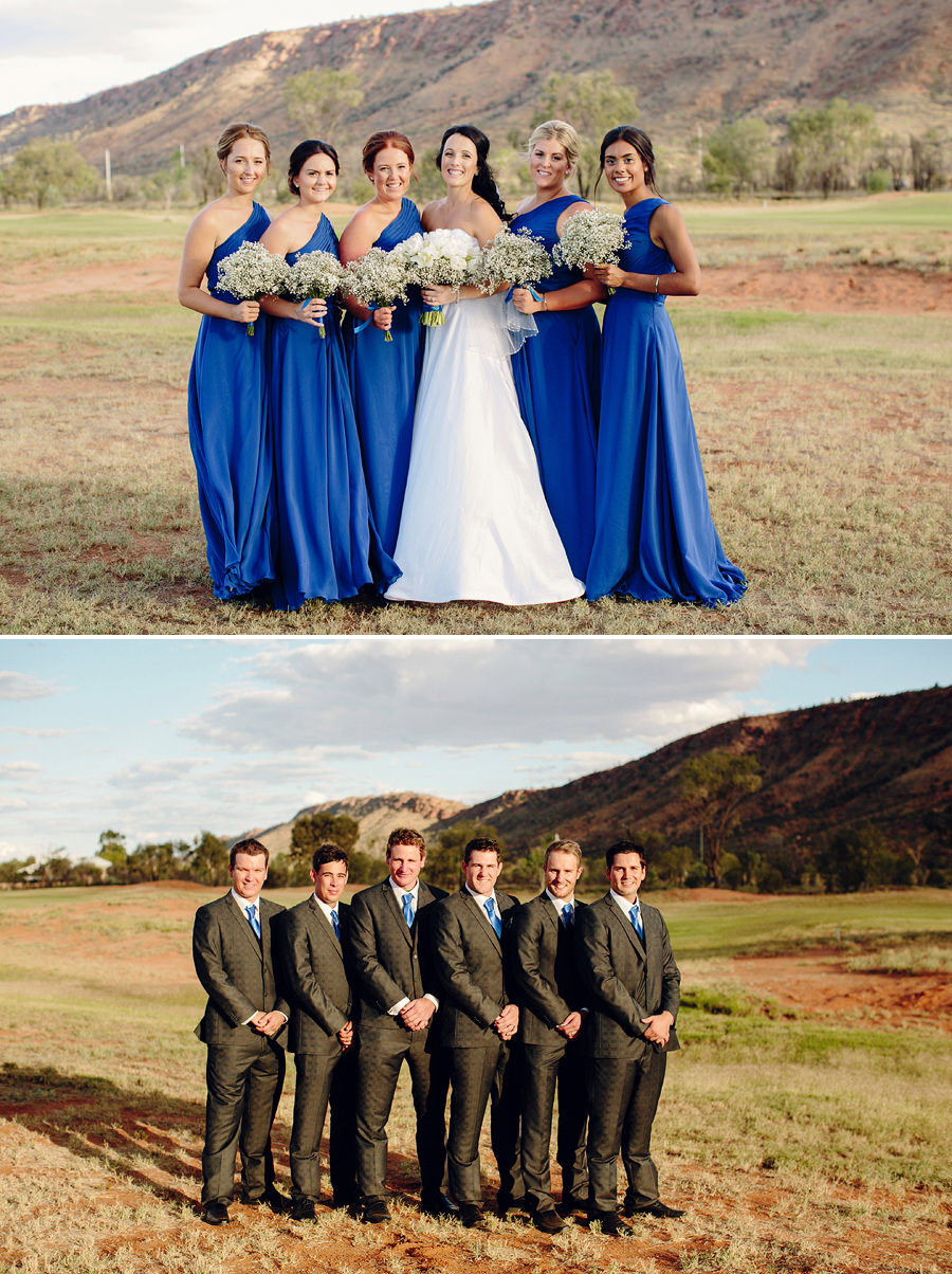 McDonnell Ranges Wedding Photographers - Bridal party portraits