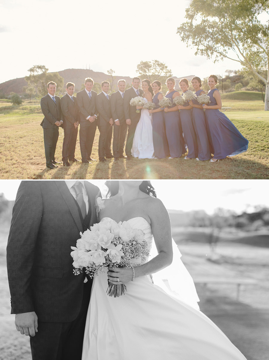 McDonnell Ranges Wedding Photography - Bridal party portraits