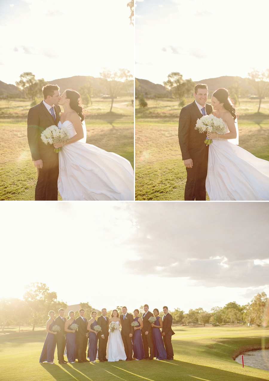 Alice Springs Wedding Photographer - Bridal party portraits