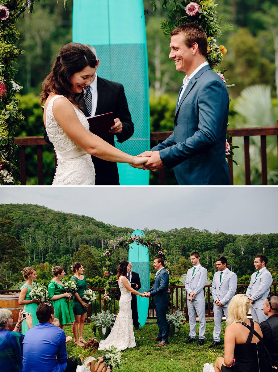 North Coast Wedding Photographer: Ceremony