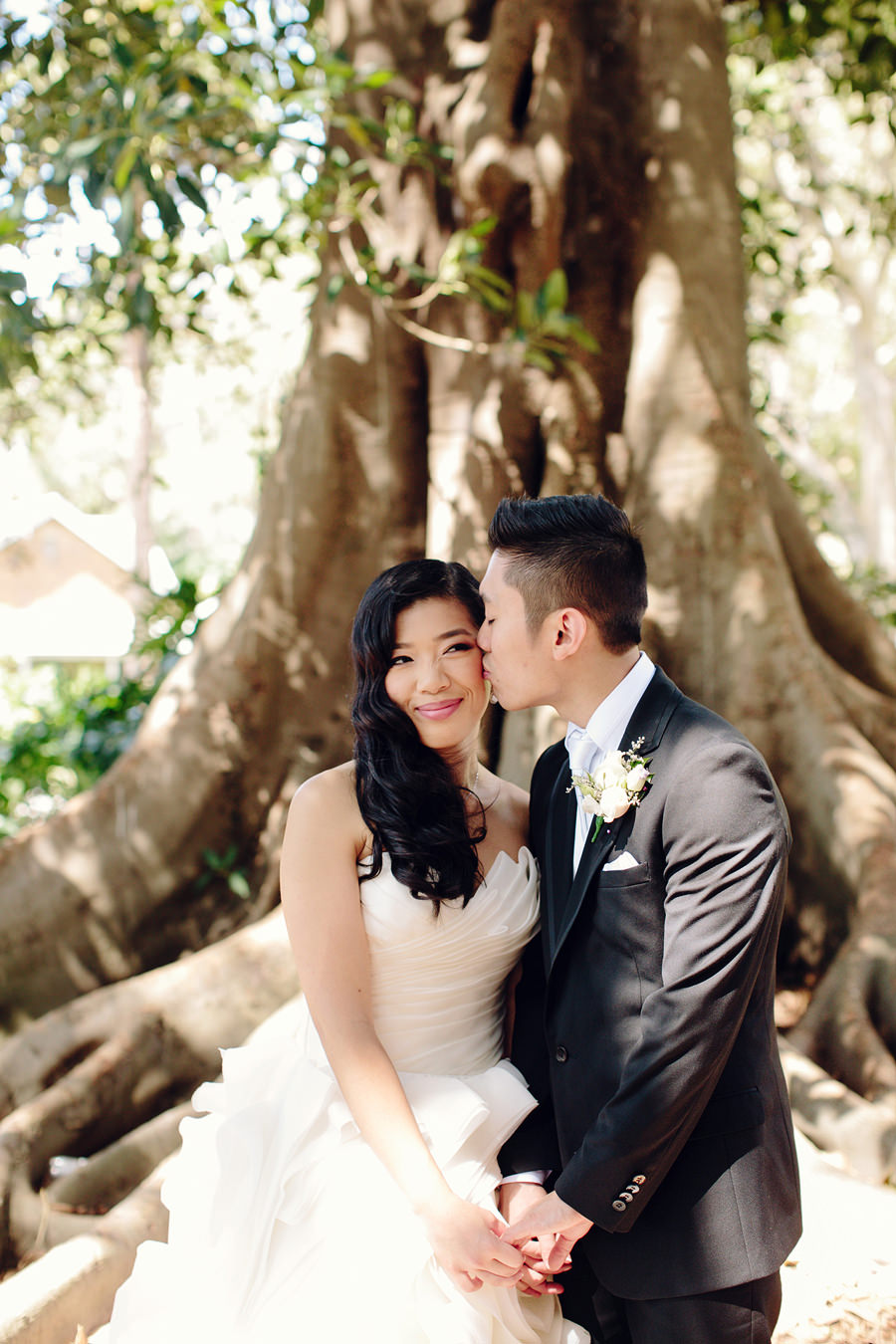 Balmain Wedding Photographer: Bride & Groom portraits