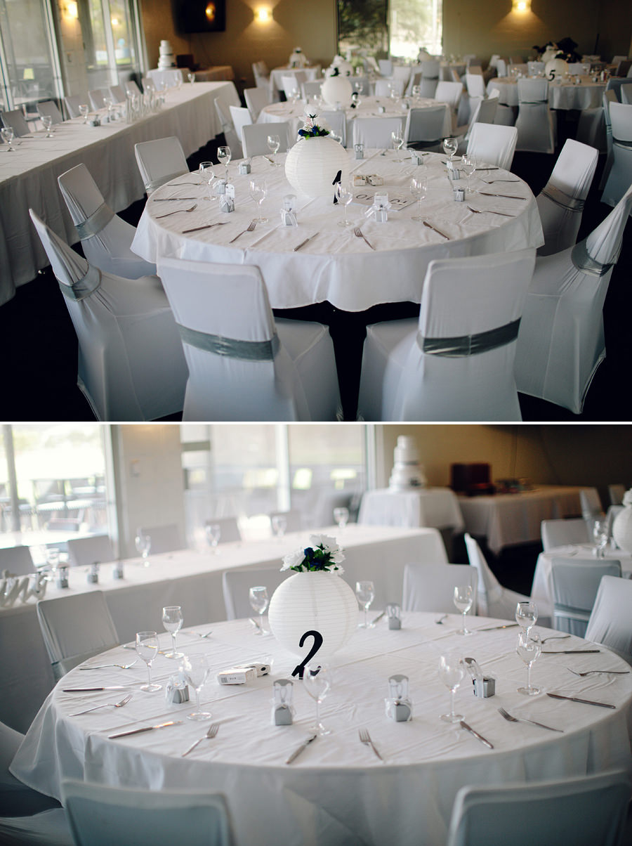 Elegant Wedding Photographer - Reception details