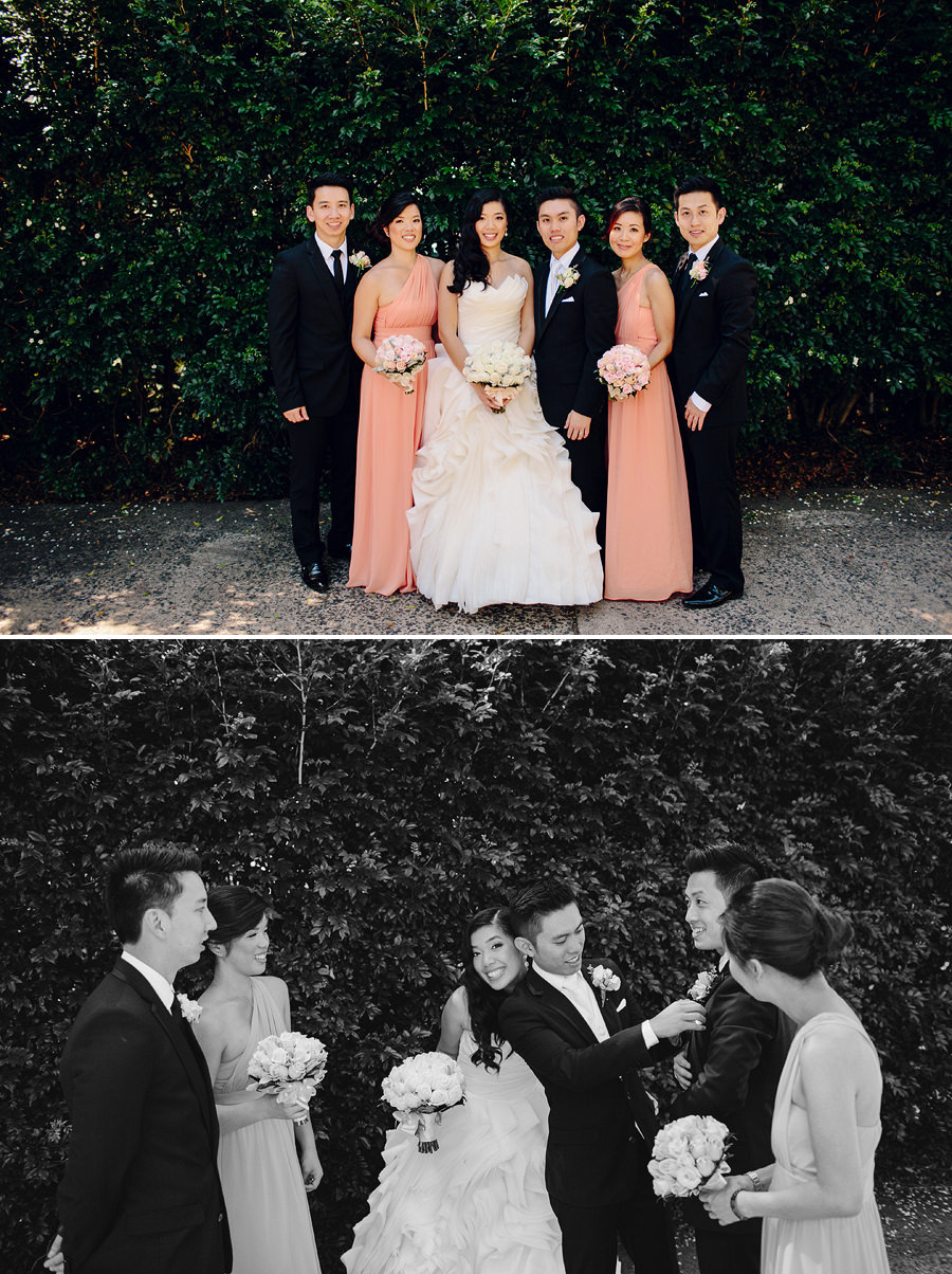 Balmain Wedding Photographers: Bridal party portraits