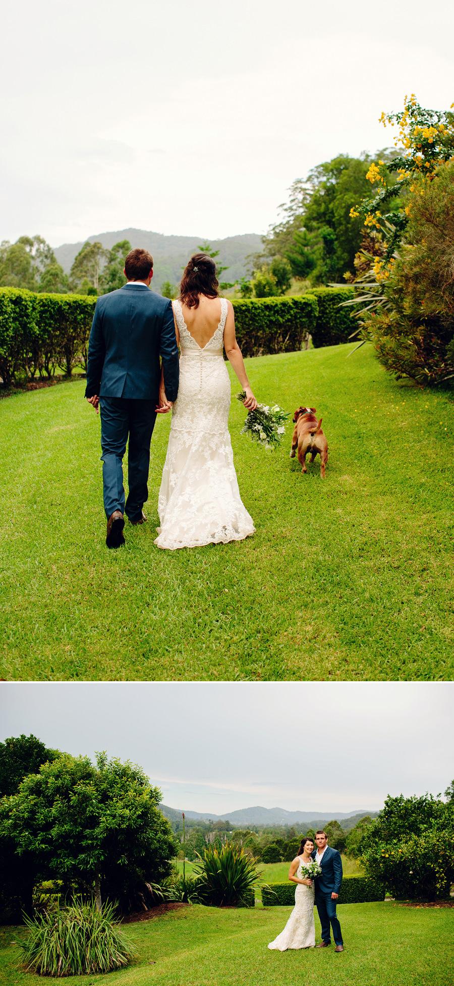 Country Wedding Photographer: Bride & Groom portraits