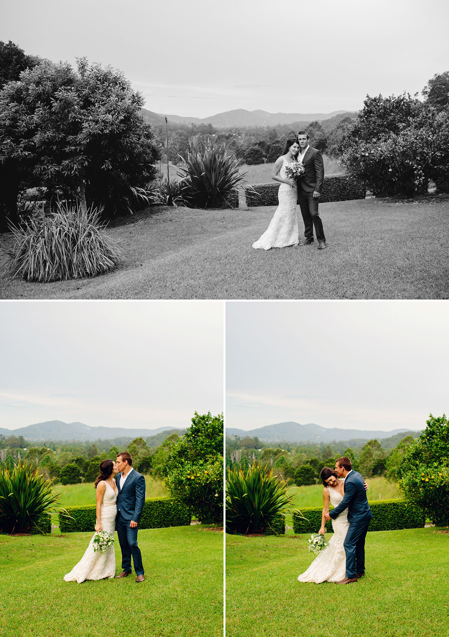 Country Wedding Photographers: Bride & Groom portraits