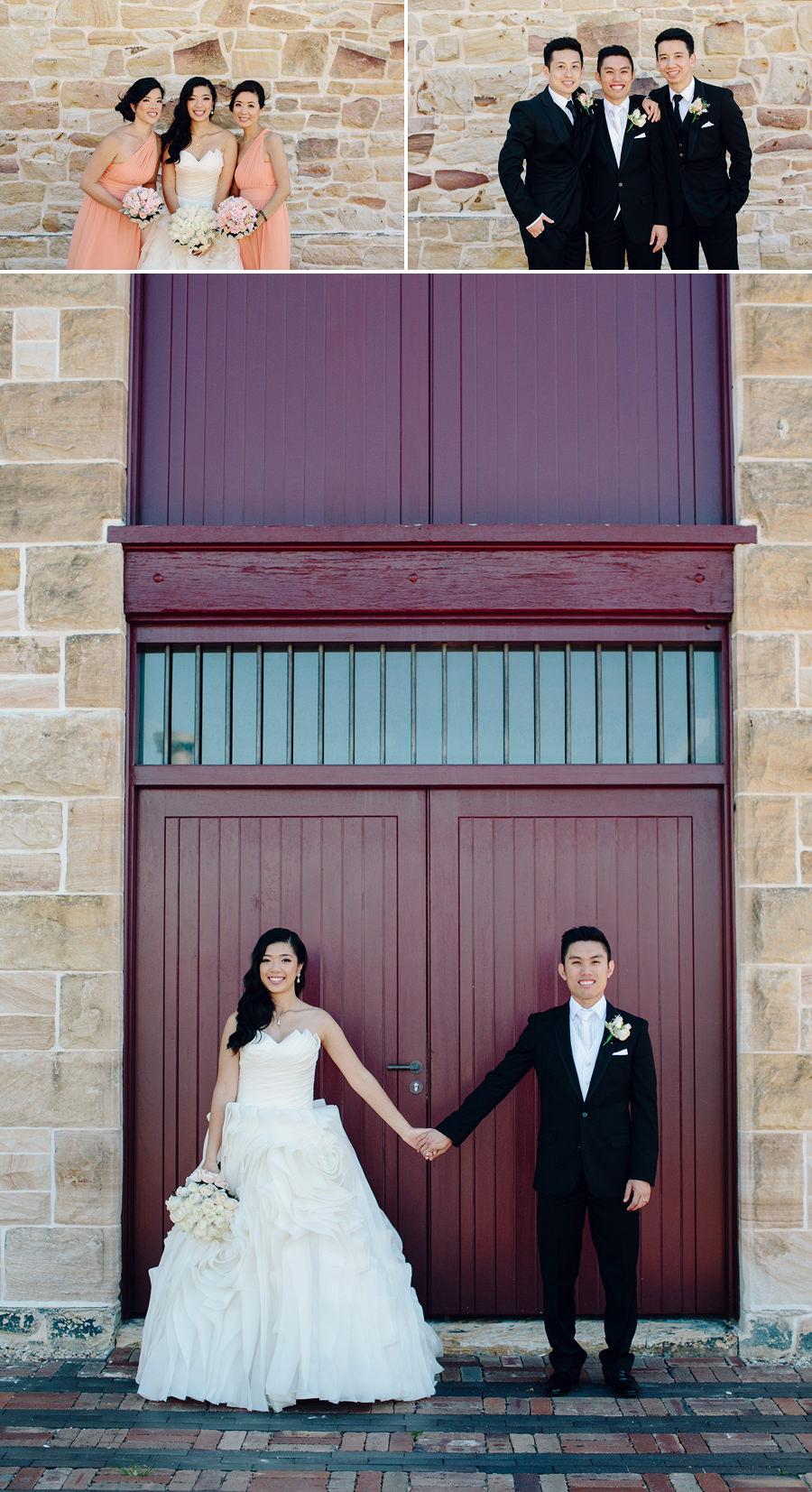 Illoura Reserve Wedding Photographer: Bridal party portraits