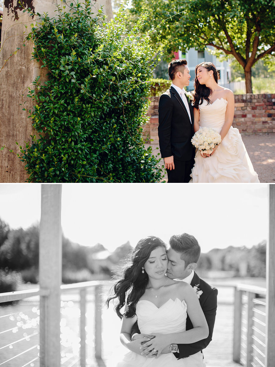 Holroyd Brickworks Wedding Photographers: Bride & Groom portraits