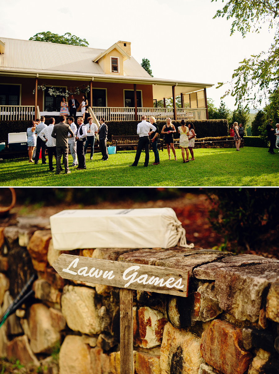 Lawn Games Wedding Photographer
