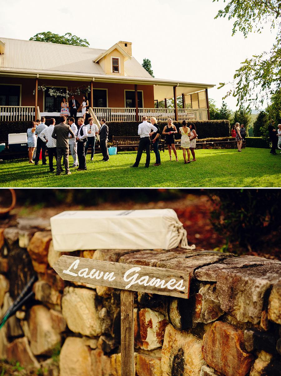 Lawn Games Wedding Photographer