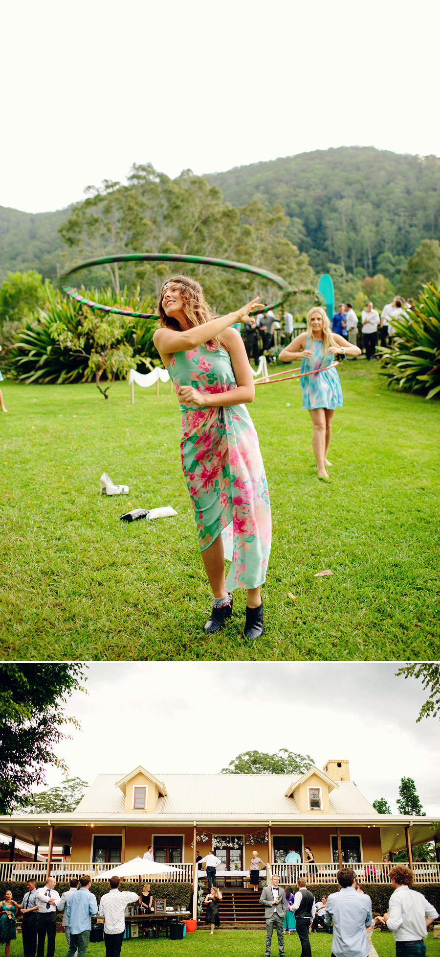 Fun Wedding Photography: Lawn Games