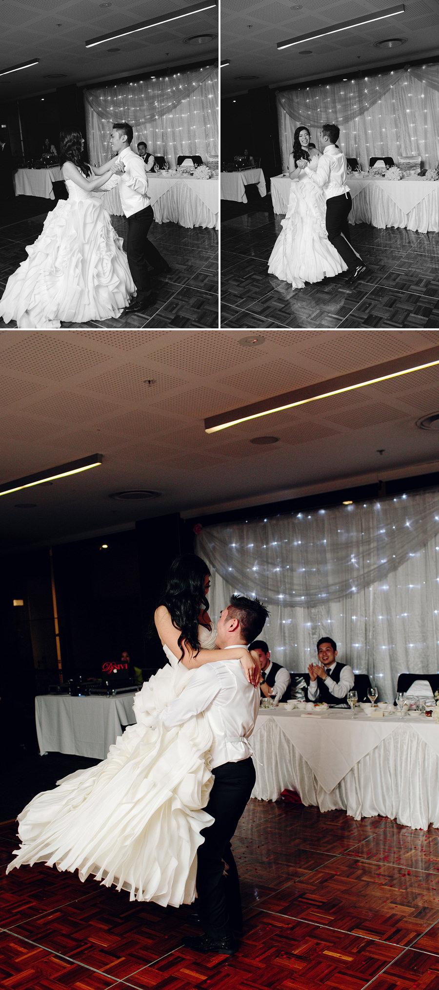 Parramatta Wedding Photographer: Bridal waltz
