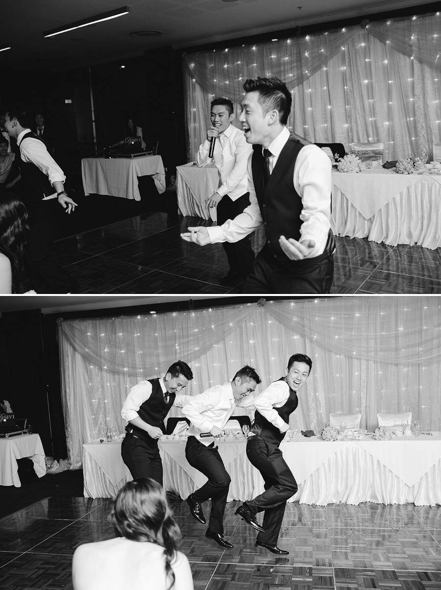 Parramatta Wedding Photographers: Groom & Groomsmen performance