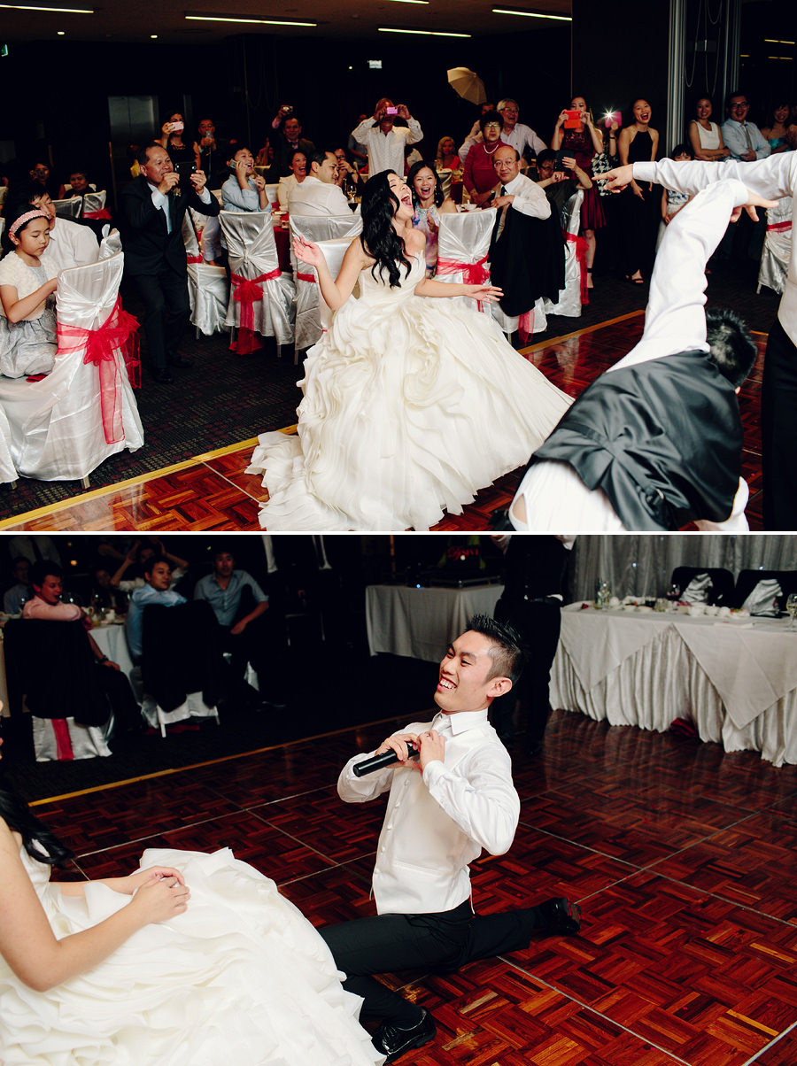 "Parramatta Wedding Photography"" Groom & Groomsmen performance"