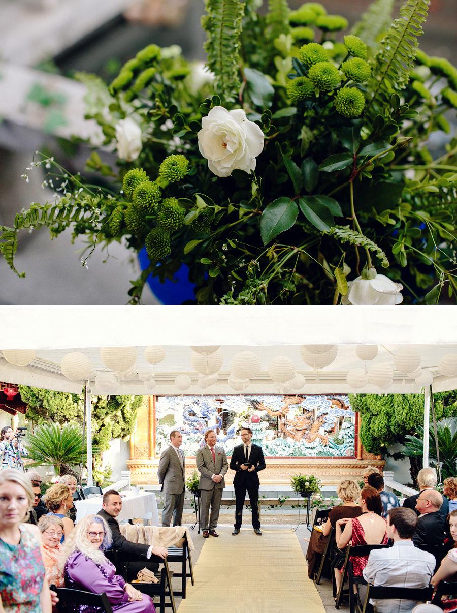 Chinese Garden of Friendship Wedding Photographer: Ceremony