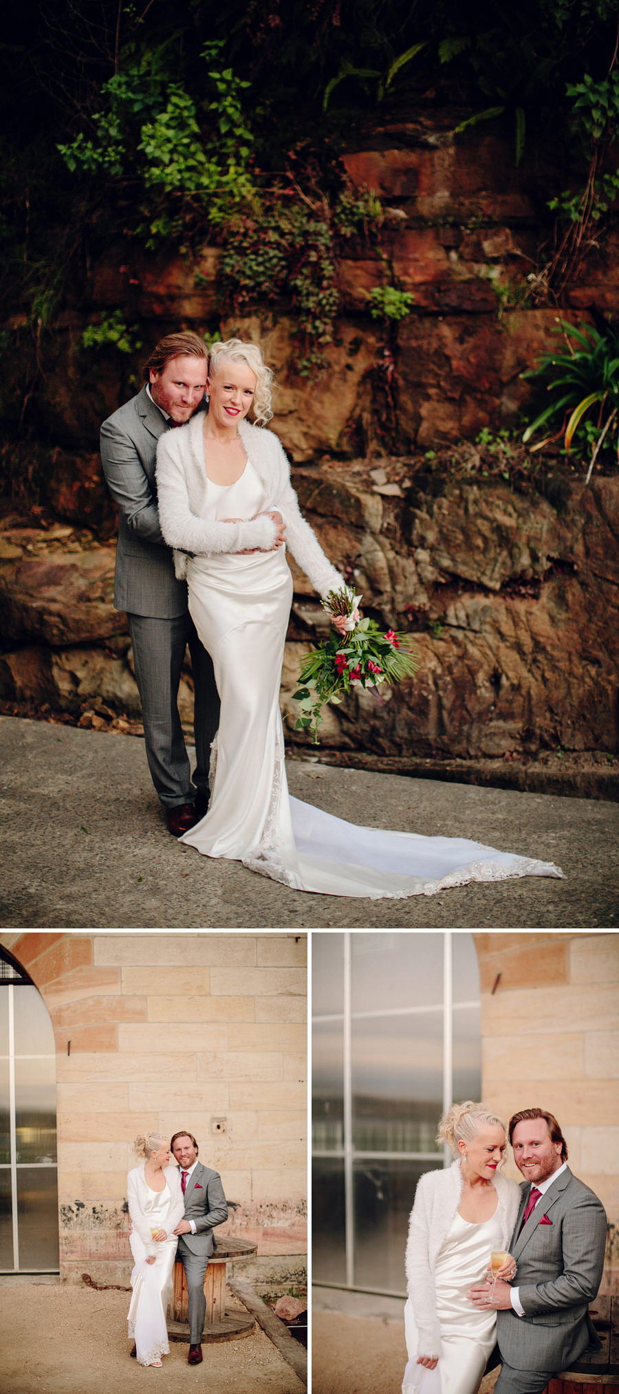 Cockatoo Island Sydney Wedding Photographer: Portraits