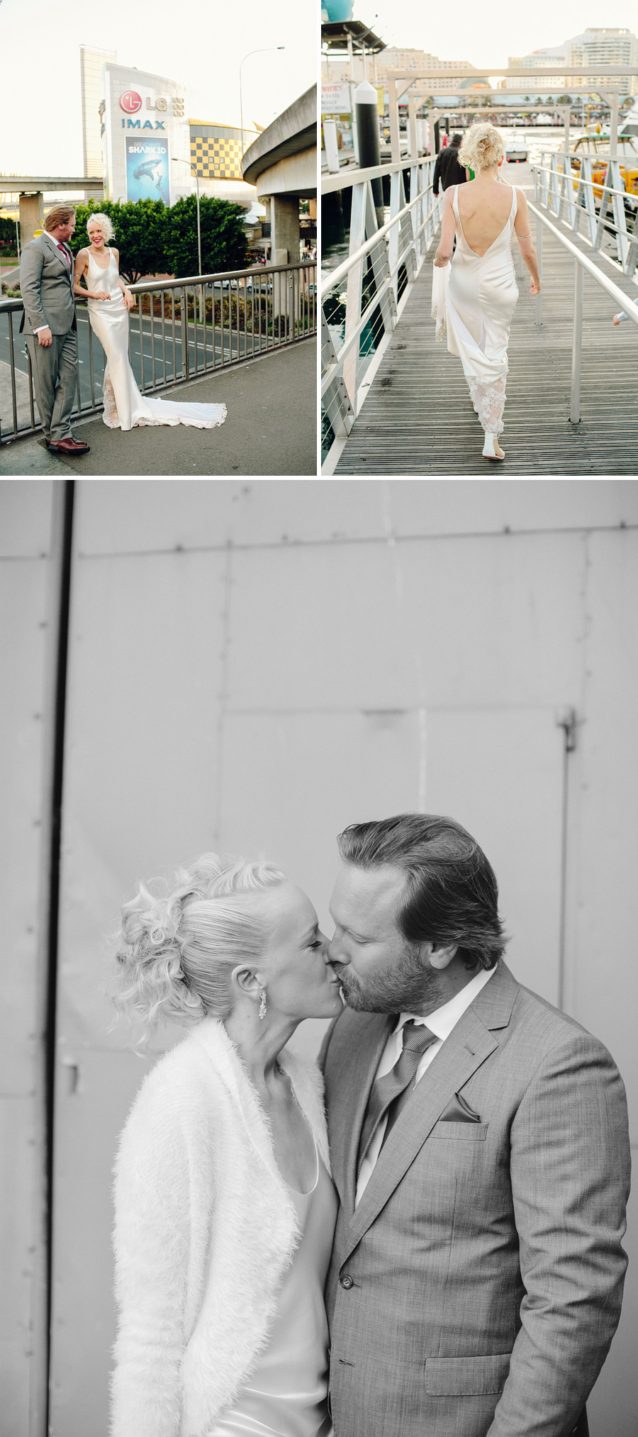 Cockatoo Island Wedding Photographer: Portraits