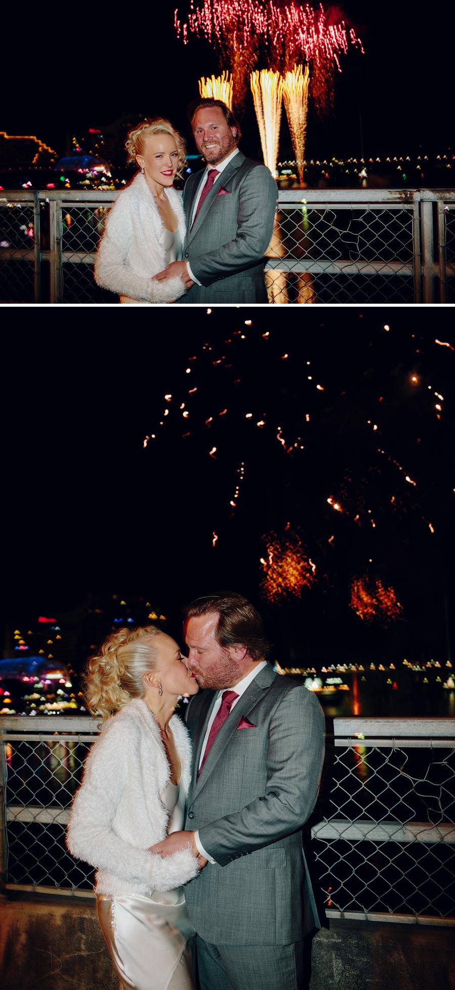 Darling Harbour Wedding Photographer: Night Portraits