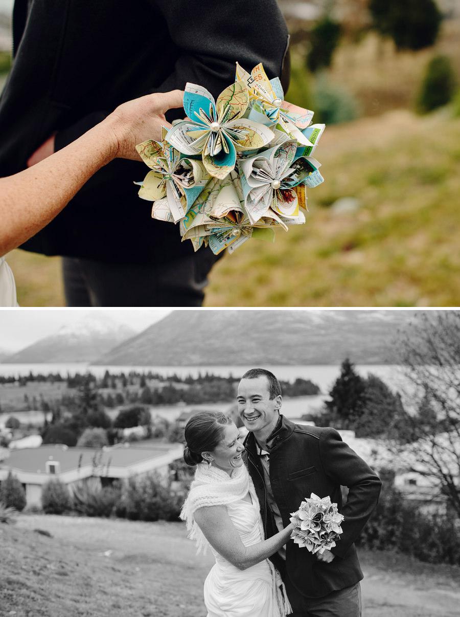 New Zealand Wedding Photography: Bride & Groom portraits