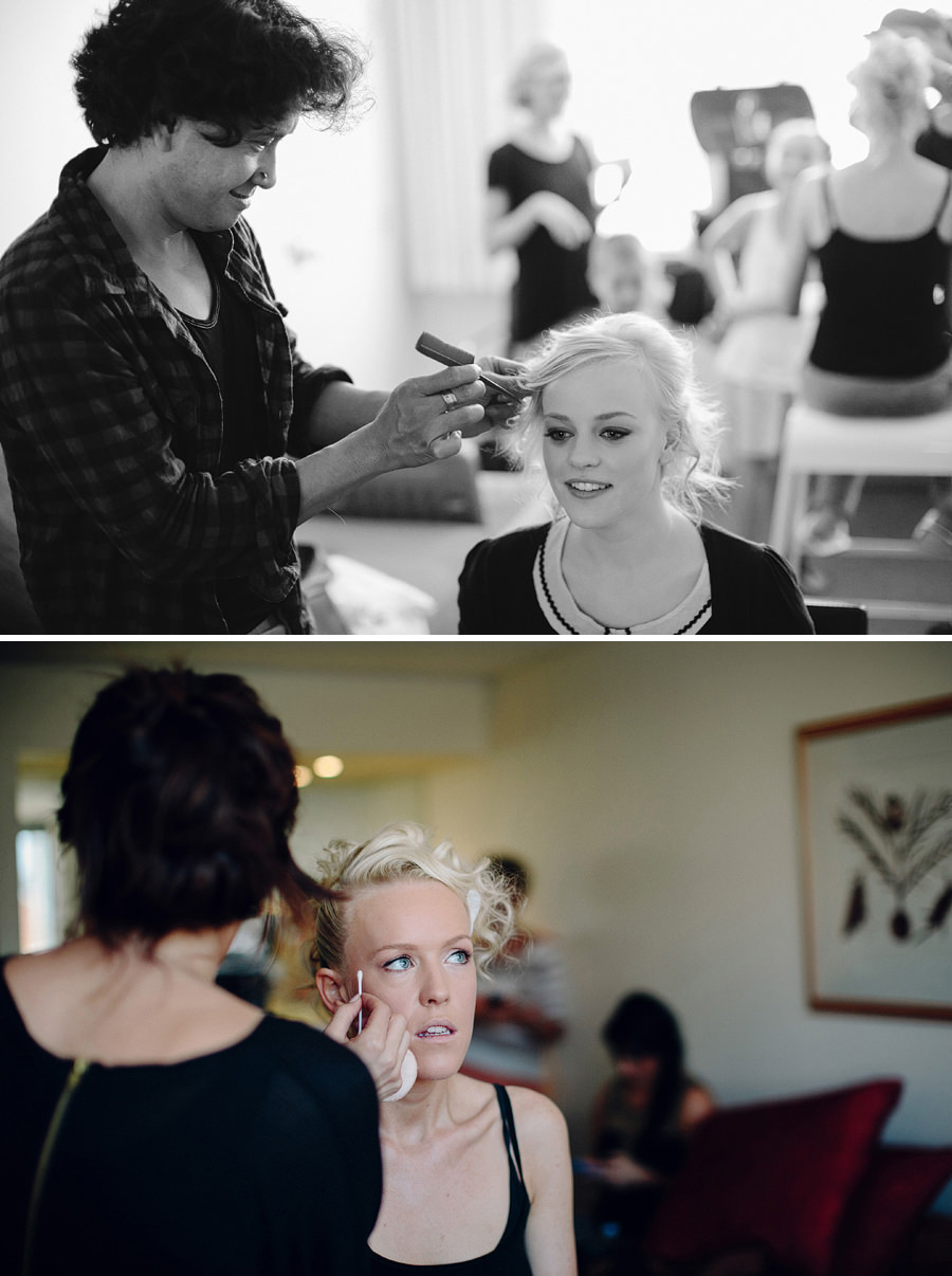 Novotel Wedding Photographers: Hair & Makeup