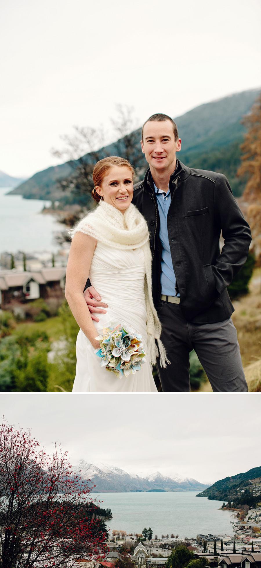 Queenstown Wedding Photographers: Bride & Groom portraits